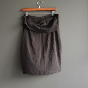Ralph Lauren Purple Label Black Skirt